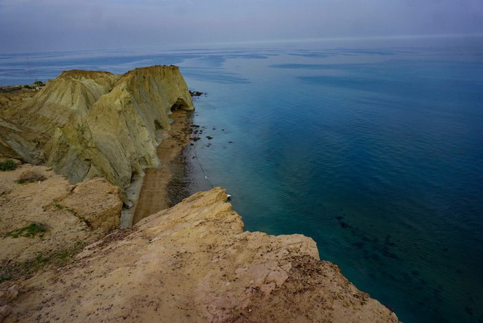 The view of the Persian Gulf, Hormuz, Iran