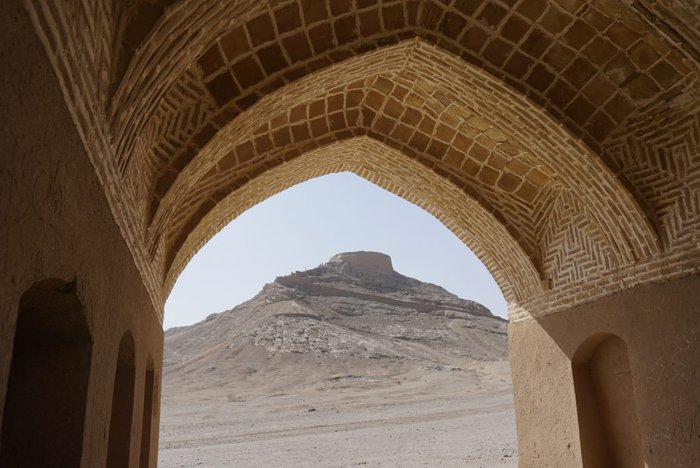 Tower of Silence, Yazd, Iran