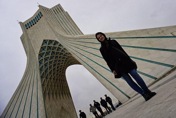 Azadi Tower, Tehran, Iran – Experiencing the Globe