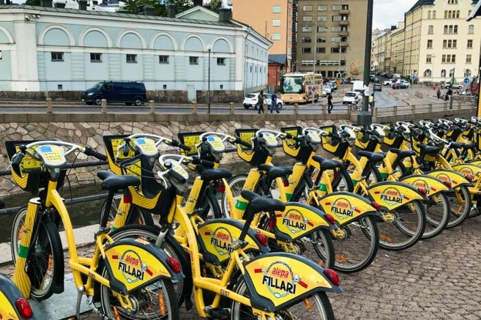 City Bikes, Helsinki, Finland - Experiencing the Globe
