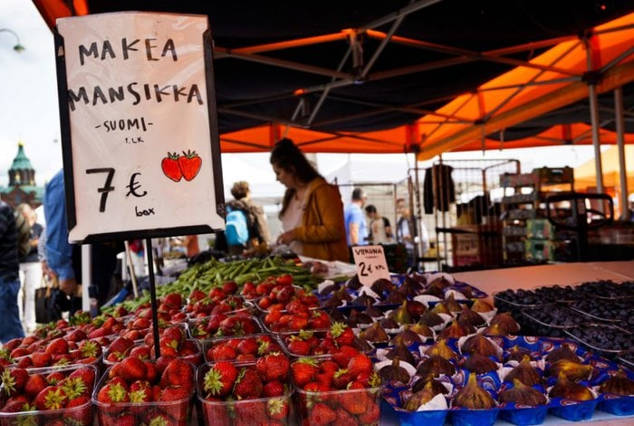 Kauppatori –market square, Helsinki, Finland - Experiencing the Globe
