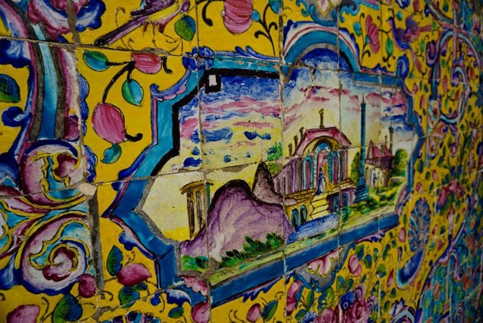 Mosaic and paint works, Golestan Palace, Tehran, Iran – Experiencing the Globe