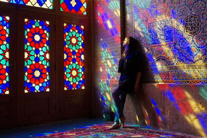 Nasir ol-molk, the Pink mosque, Shiraz, Iran – Experiencing the Globe