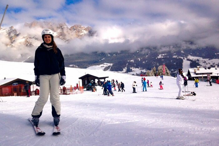 Skiing in the Alps, Tofana, Dolomites, Italy - Experiencing the Globe