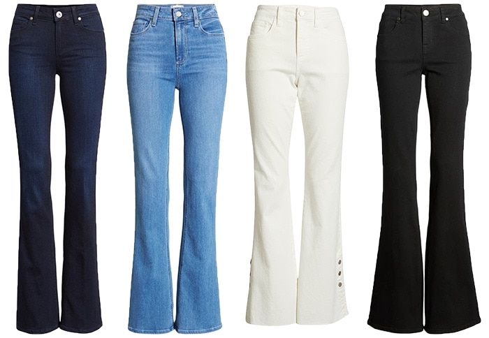 Wear jeans with a flare or a bootcut | fashion over 40 | style | fashion | 40plusstyle.com