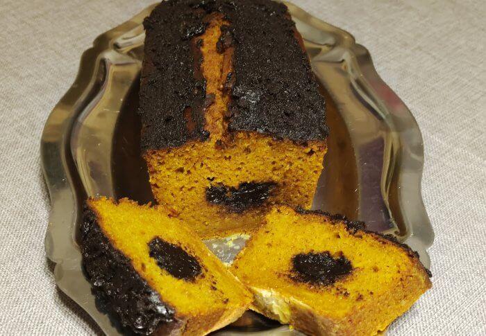 Gâteau potimarron et crème de marrons
