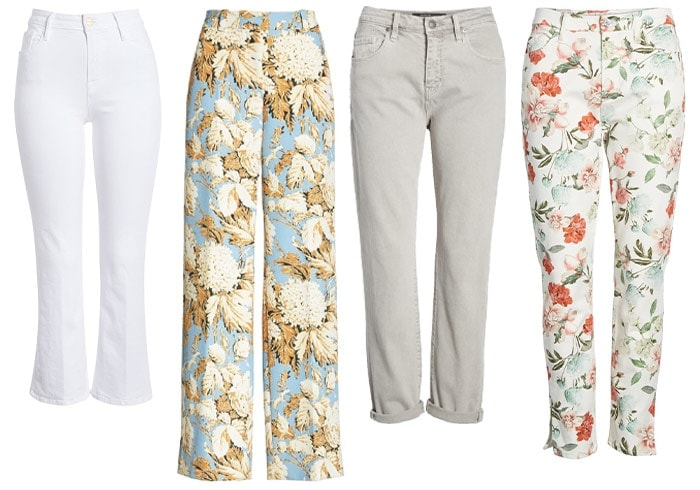 pants for the romantic style personality | 40plusstyle.com