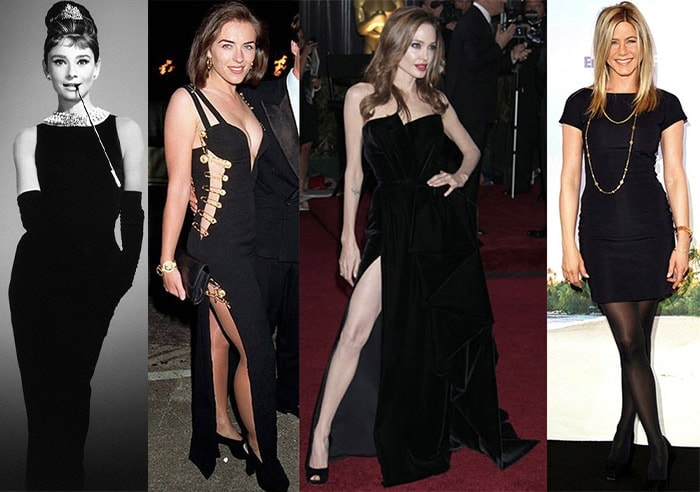 Celebrities in perfect little black dresses | 40plusstyle.com