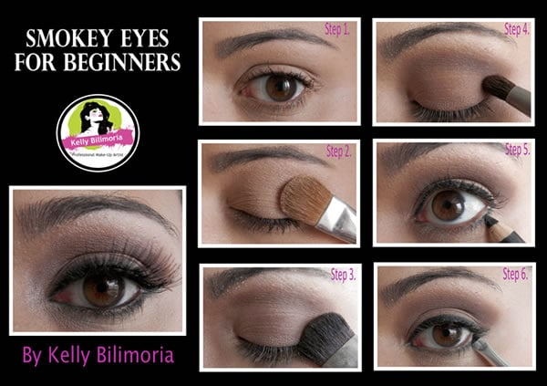 How to create smokey eyes | 40plusstyle.com