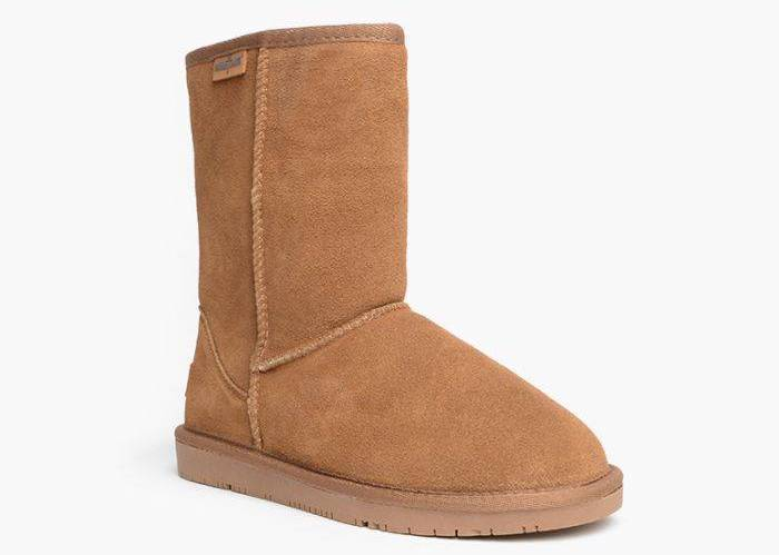 Minnetonka Olympia Boot - #uggs Not ready to splurge on Ugg boots this year? Save $$$ by getting one of these cheap Ugg boots like Bearpaw, CLPP'LI, Dawgs, Ausland, or Dream Pairs. My favorites are #2, #7, and #5! #bearpaw #wintershoes
