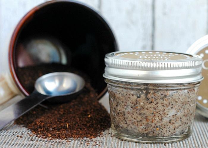 Кофейный скраб для тела - рецепт приготовления пошагово