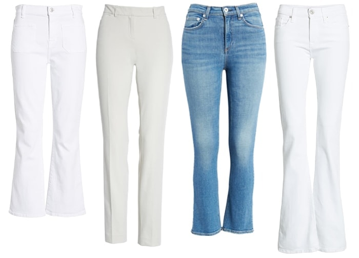 pants and jeans for the rectangle body shape | 40plusstyle.com