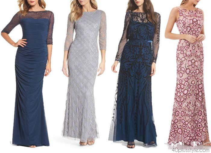 The best mother of the bride dresses | 40plusstyle.com