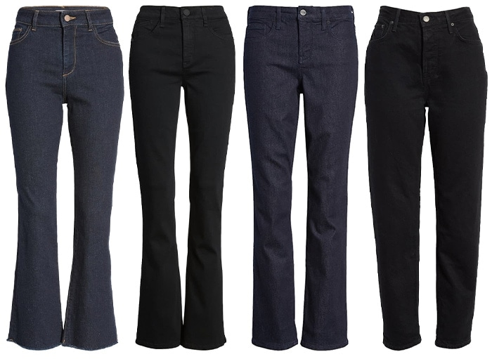 Jeans that you can wear for work | 40plusstyle.com
