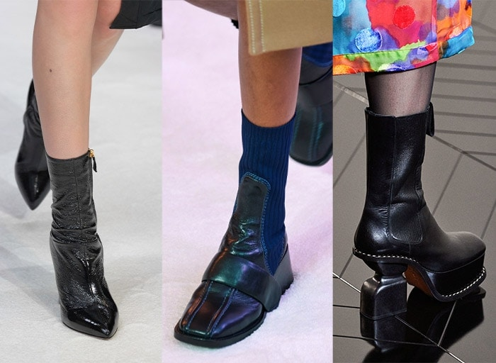 Stretchy calf high boots for fall 2019 | 40plusstyle.com
