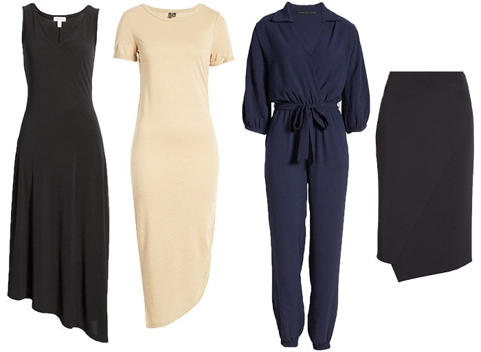 Dresses and skirts for the minimal style personality | 40plusstyle.com