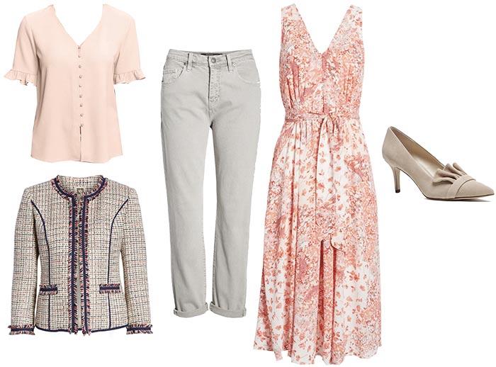romantic style clothings | 40plusstyle.com