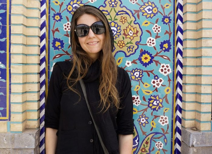 Solo female traveler, Iran