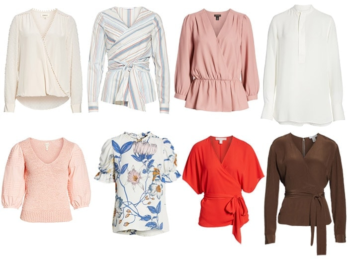 tops for the pear body shape | 40plusstyle.com