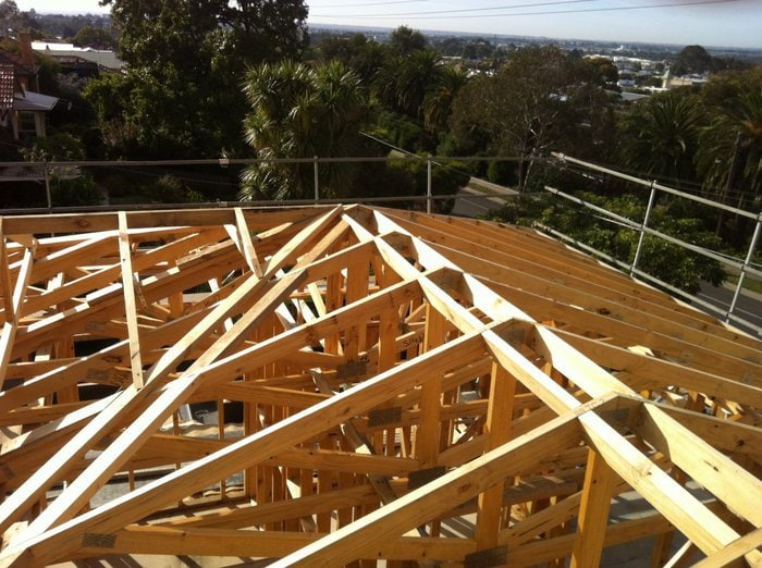 Framing roof materials for a shingle roof system