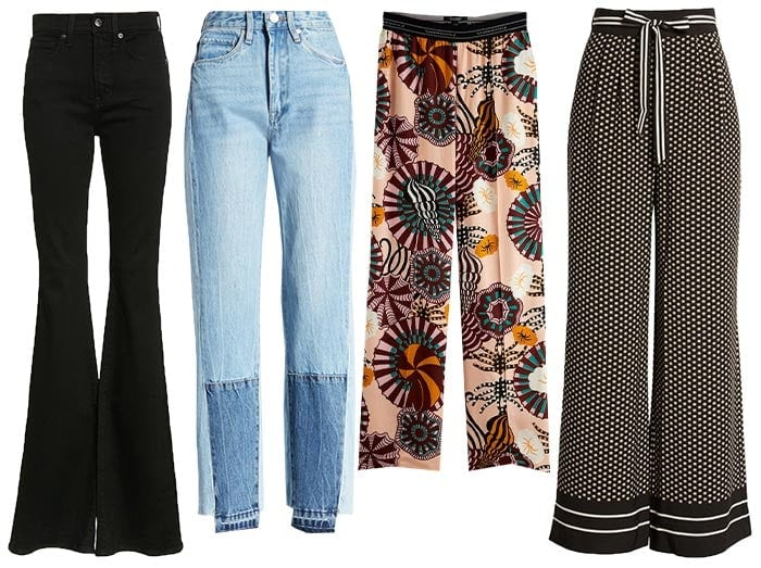 Pants and jeans for the bohemian style personality | 40plusstyle.com