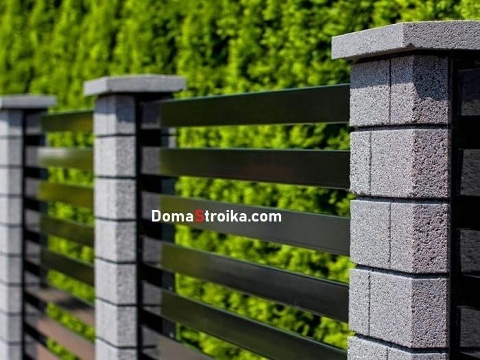 Забор для загородного участка: идеи оформления