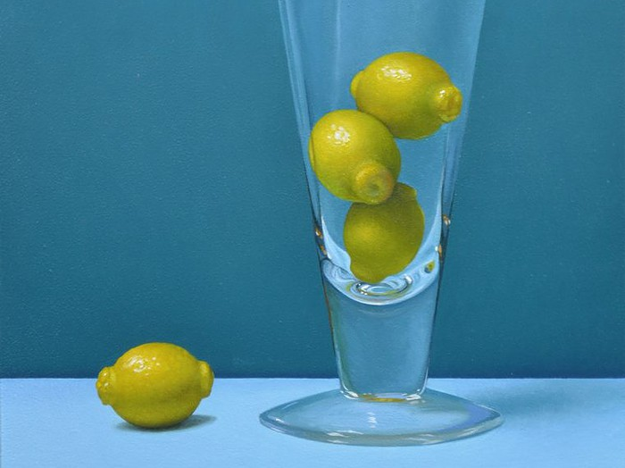 "Lemon Gumballs9"" x 12"""