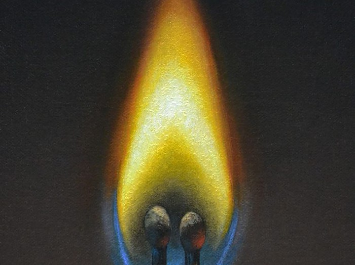 """Pair of Matches6"""" x 8""""sold"""