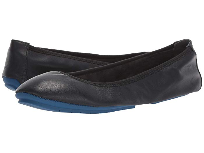 The super comfortable Me Too Tru Blue ballet flats that costs way less than Tieks!
