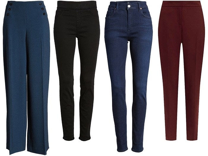 Jeans and pants inspired by Kate Middleton | 40plusstyle.com