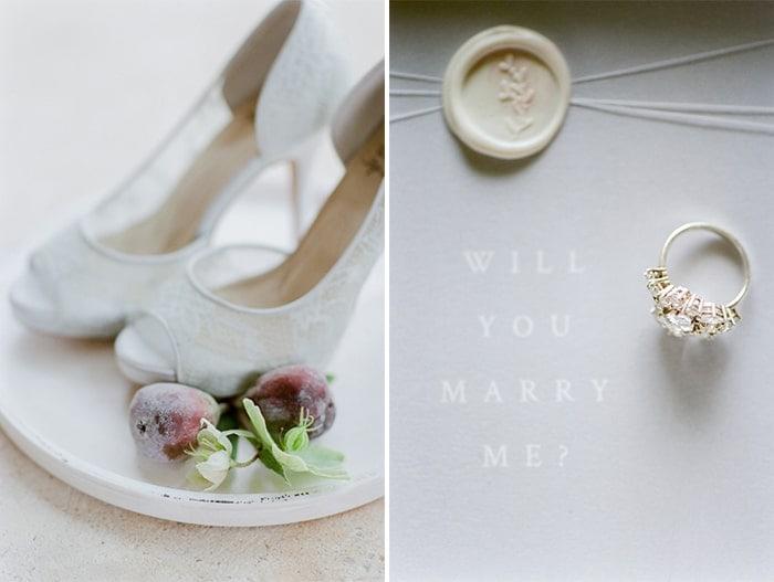 Wedding Shoes At Le Clos Saint Esteve At Tamara Gruner Workshops