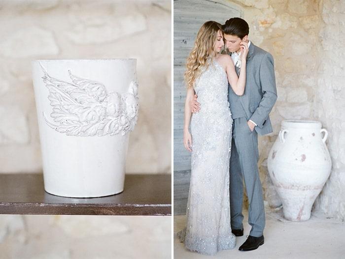 Engaged Couple  At Le Clos Saint Esteve At Tamara Gruner Workshops