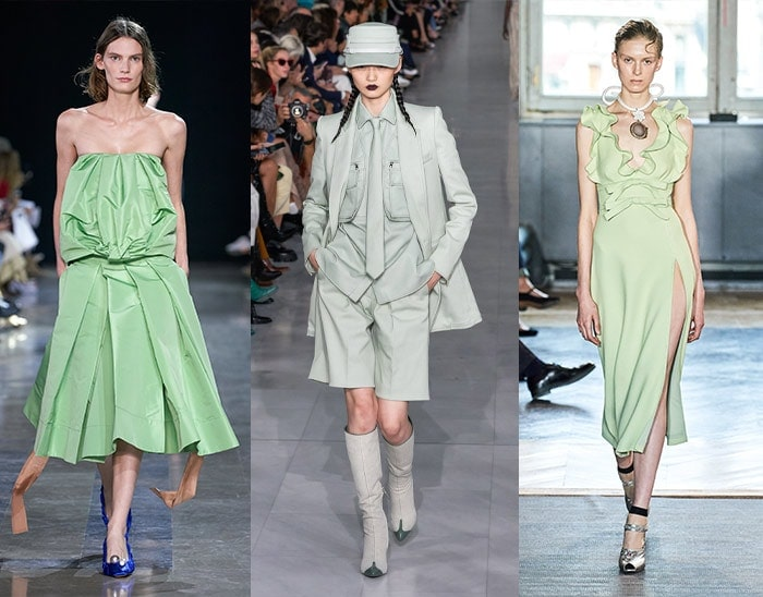 pales greens for among the 2020 color trends | 40plusstyle.com