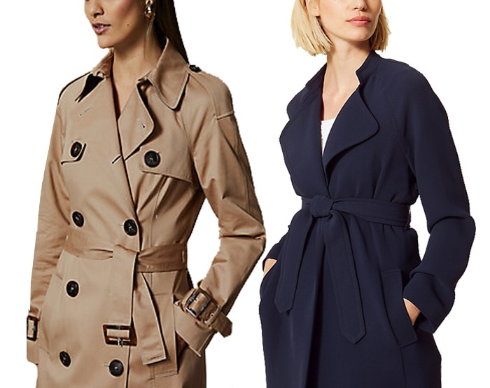 Marks and Spencer coats | 40plusstyle.com