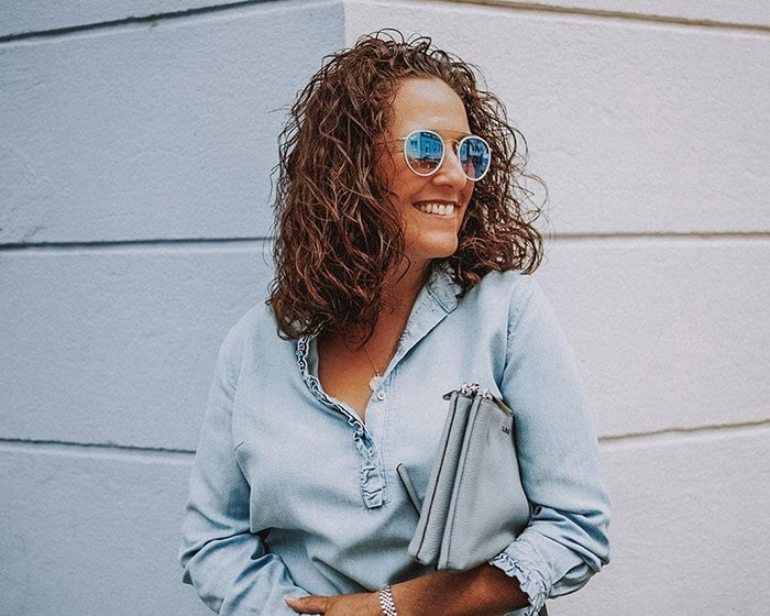 Things that date us - Natalie shows how to embrace your natural curls | 40plusstyle.com