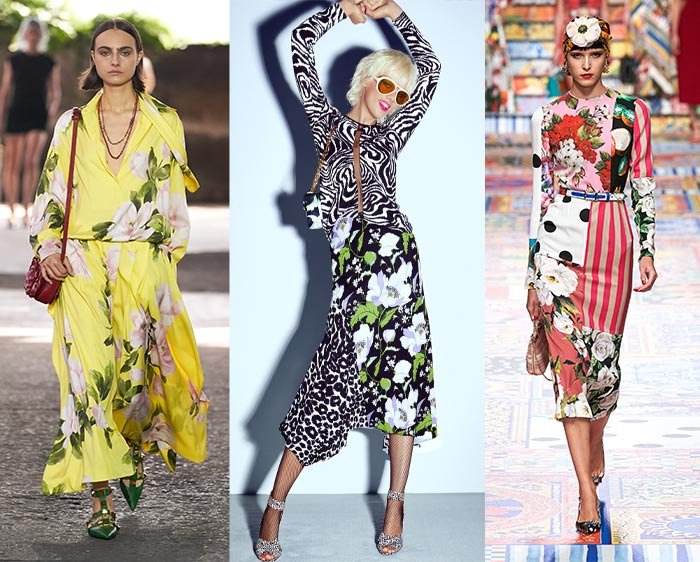 Bold florals in the 2021 fashion trends | 40plusstyle.com