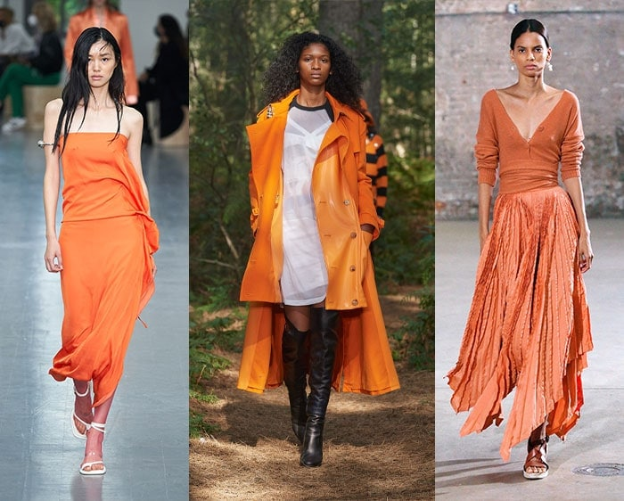 Fashion color trends 2021 - orange | 40plusstyle.com
