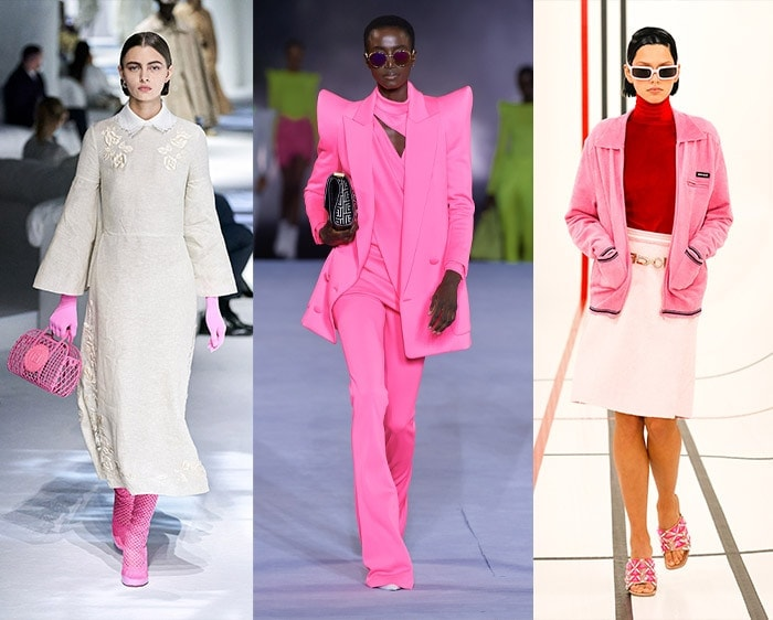Fashion color trends 2021 - bubblegum pink | 40plusstyle.com