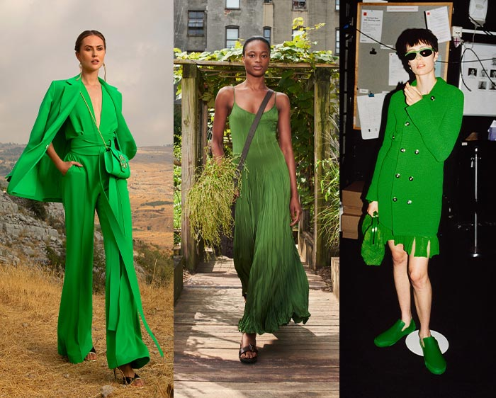 Color trends for spring - green | 40plusstyle.com
