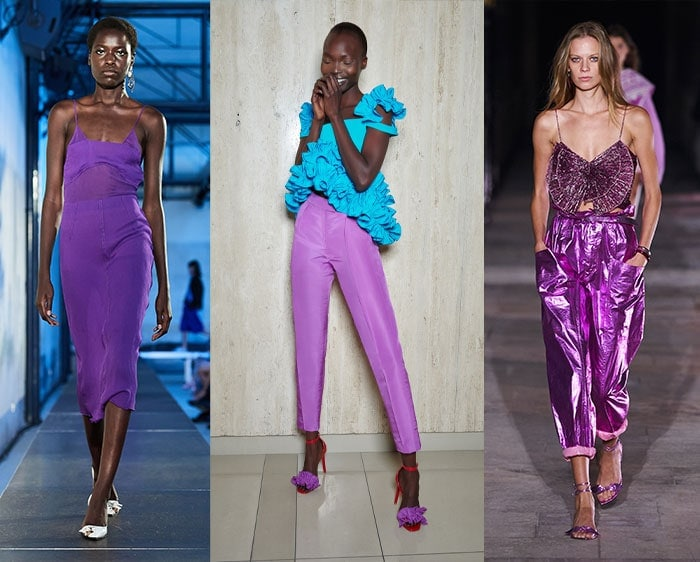 Purple outfits for spring | 40plusstyle.com