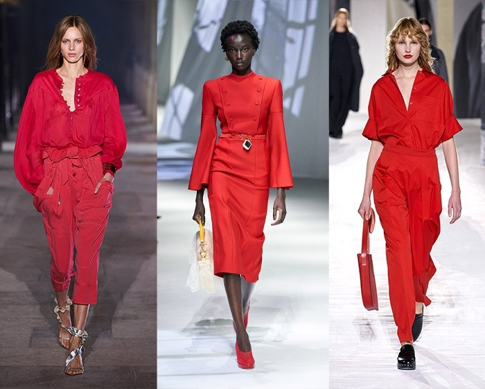 Fashion color trends 2021 - red | 40plusstyle.com