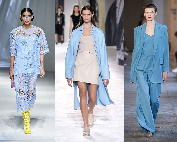 Color trends for spring - sky blue | 40plusstyle.com