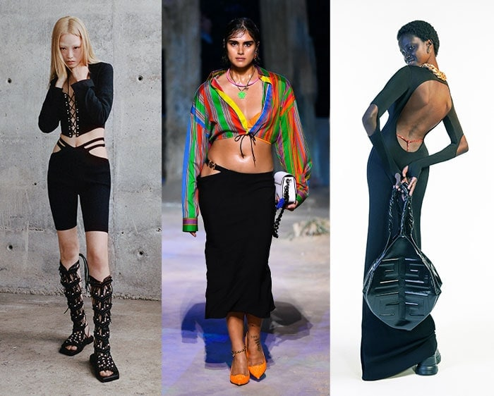 Visible g-strings in the spring fashion shows | 40plusstyle.com