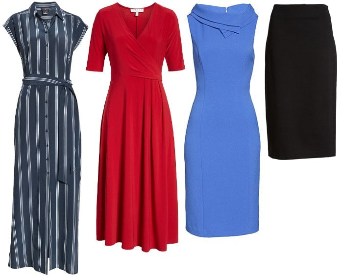dresses and skirts for petites | 40plusstyle.com