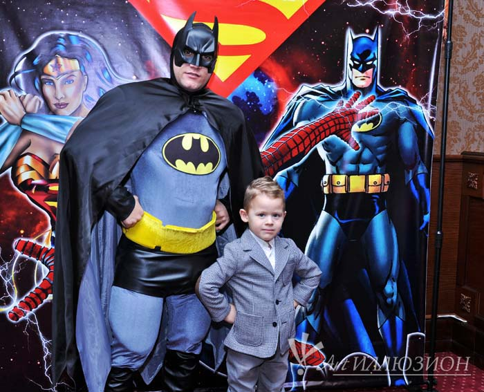 Аниматоры Киев, Детский День Рождения в стиле Супергерои