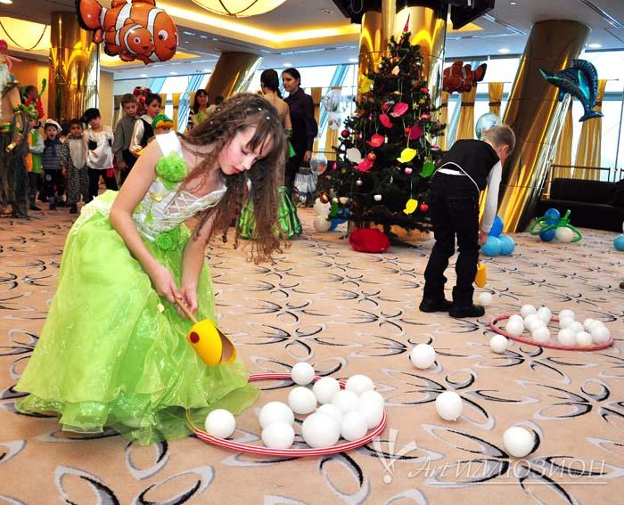 корпоративные детские новогодние праздники в стиле Домашние Животные