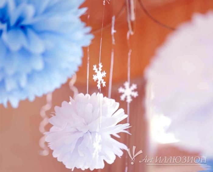 Фотозоны и Декор Frozen