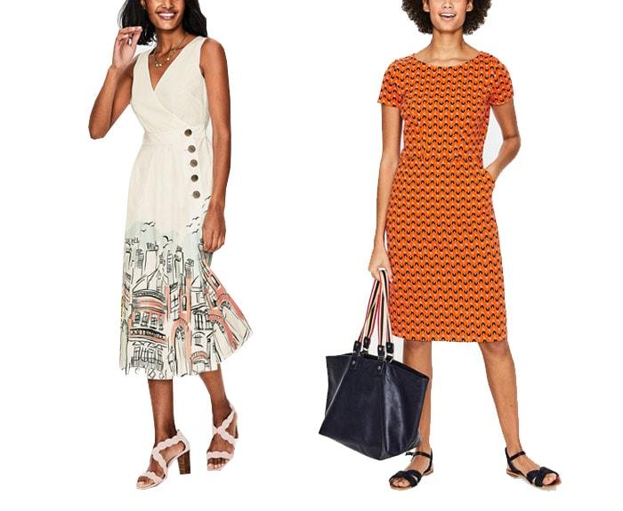 Boden casual dresses | 40plusstyle.com