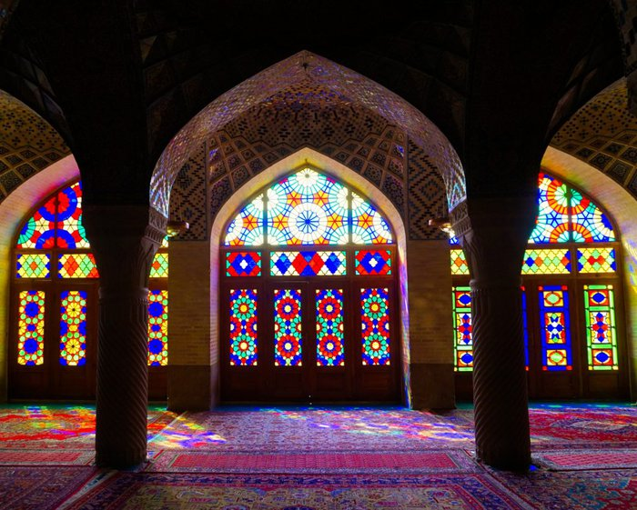 Nasir ol-molk - the Pink mosque, Shiraz, Iran – Experiencing the Globe