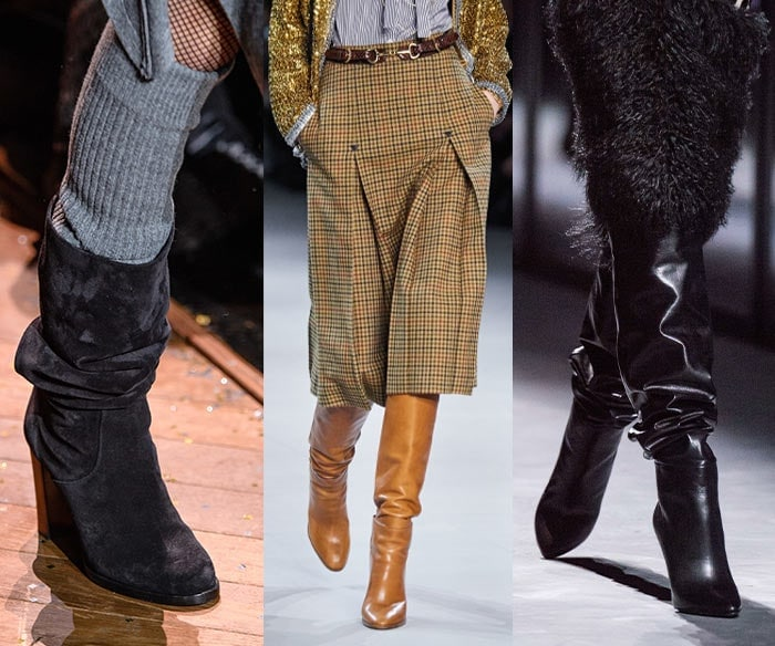 Slouchy boots for fall 2019 | 40plusstyle.com